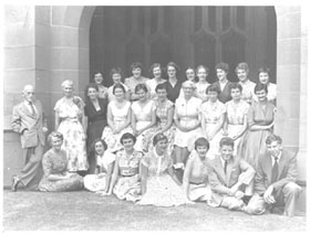 Library staff 1955