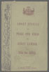 The One Millionth Book Henry Lawson's Short Stories in Prose and Verse 1894 titlepage